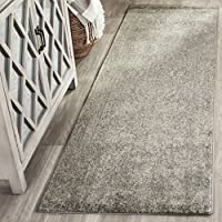 Safavieh Evoke Collection EVK256S Vintage Oriental Silver and Ivory Runner (22 x 15)