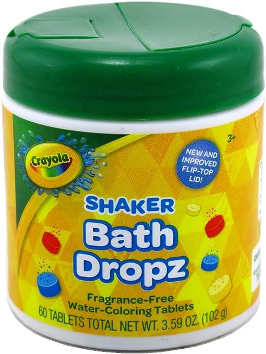 Crayola Bathtub Crayons with Crayola Color Bath Drops 60 tablets
