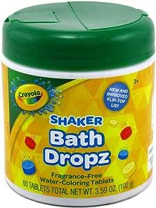 Crayola Color Bath Dropz 3.59 Ounce (60 Tablets) by Toys & Child