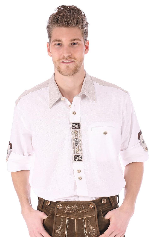 Orbis Trachtenhemd 720006-1011-01 weiss