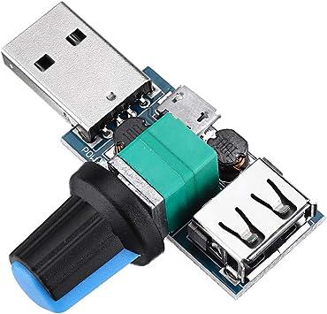 BliliDIY 3Pcs Módulo De Controlador De Velocidad De Ventilador USB ...