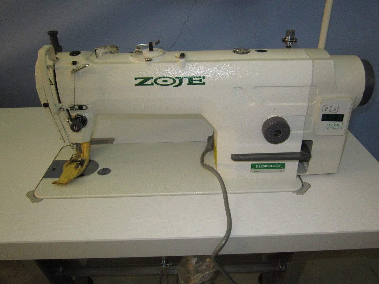 ZOJE ZJ9513G-5/02 - Máquina de Coser rápida para Tejidos medianos ...