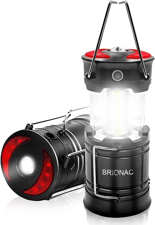 iBazal Farol de Camping LED Linterna Lámpara Trabajo Luz Impermeable para Pesca, Excursión, Jardín, Patio, Automóviles, Taller, Emergencia, Bicicleta, ...
