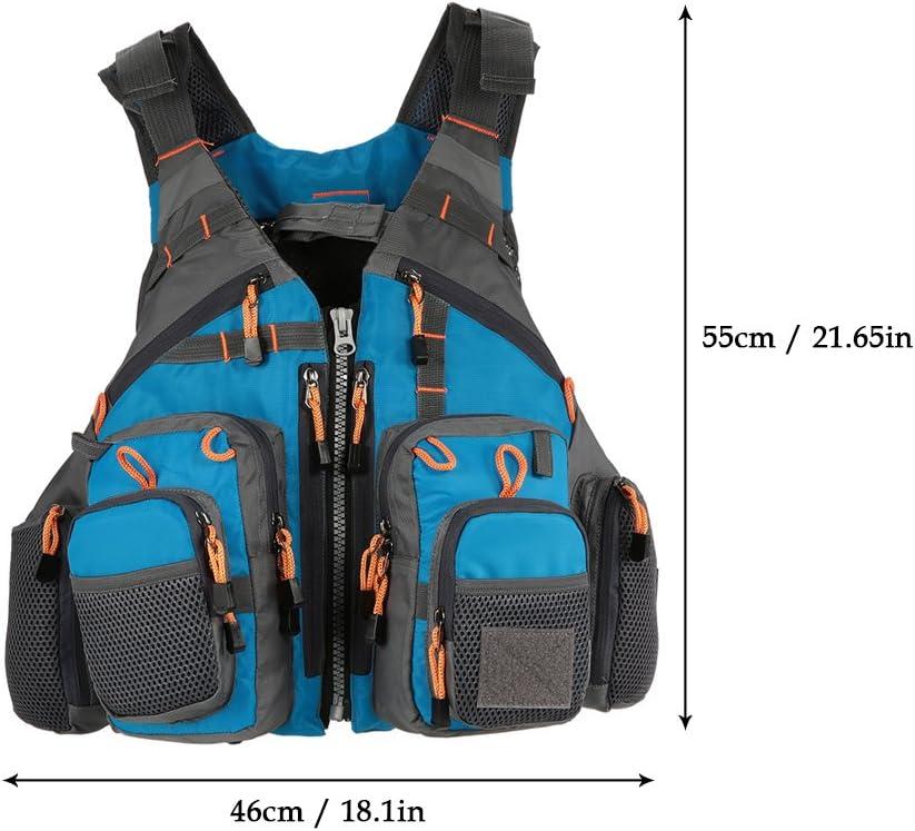 Details about  /Adjustable Adult Life Jacket Vest Reflective Boat Aid Sailing Kayak Fly Fishing
