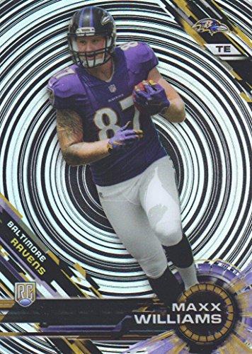 2015 Topps High Tek Football Spiral #49 Maxx Williams RC Baltimore (Baltimore Ravens Spiral)