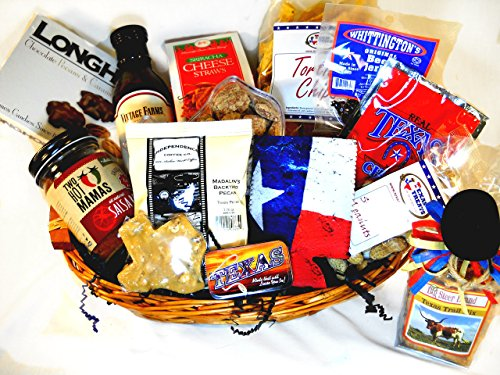 The Cattleman Texas style Gift Basket by Texas Treats
