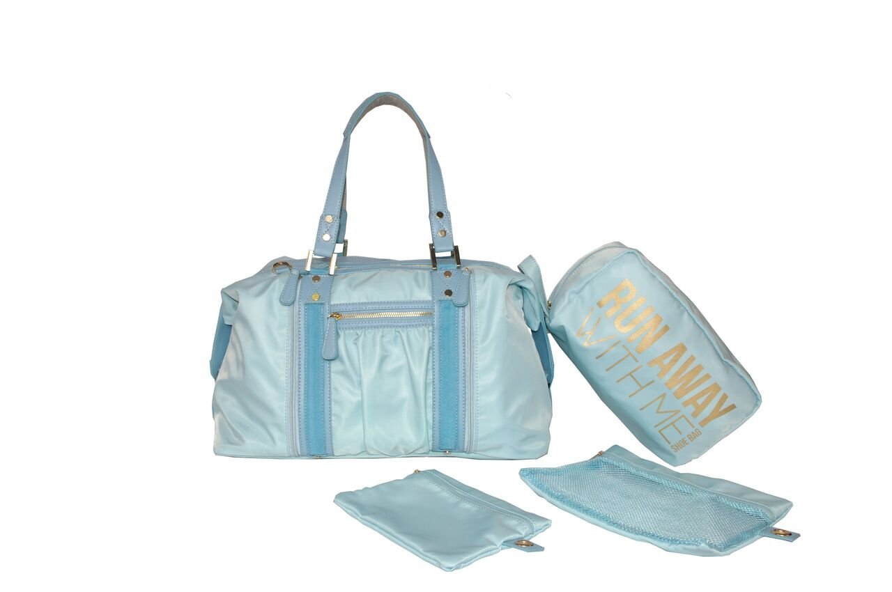 Hang Accessories Blue Athleisure Yoga Tote Bag