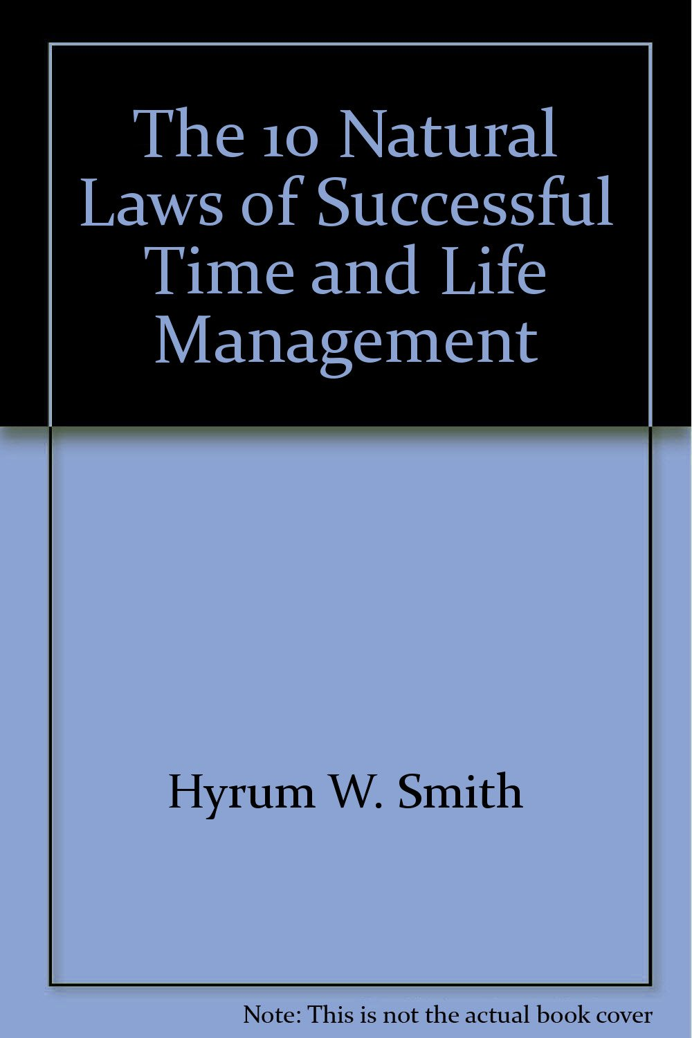 The 10 Natural Laws of Successful Time and Life Management (in Korean):  9788934903611: Amazon.com: Books