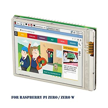 Raspberry Pi Zero W Screen iUniker 2 8-inch 60+ fps 640x480