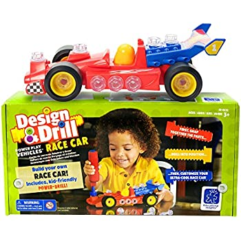 Educational Insights Design Drill Power Play Vehicles Race Car
