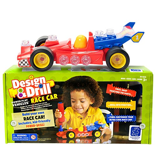 Educational Insights Design & Drill Race Car -