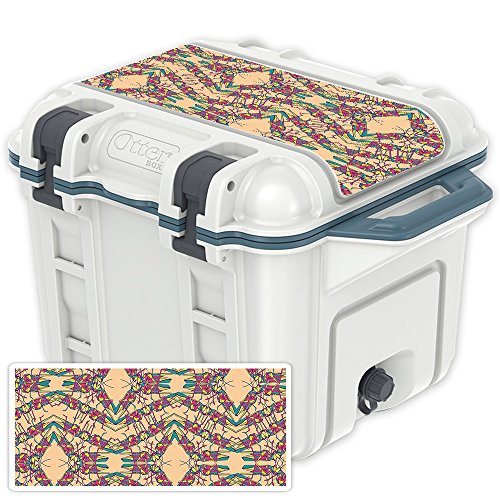 (MightySkins (Cooler Not Included) Skin Compatible with OtterBox Venture 25 qt Cooler Lid - Grass Hopper | Protective, Durable, and Unique Vinyl Decal wrap Cover | Easy to Apply | Made in The USA)