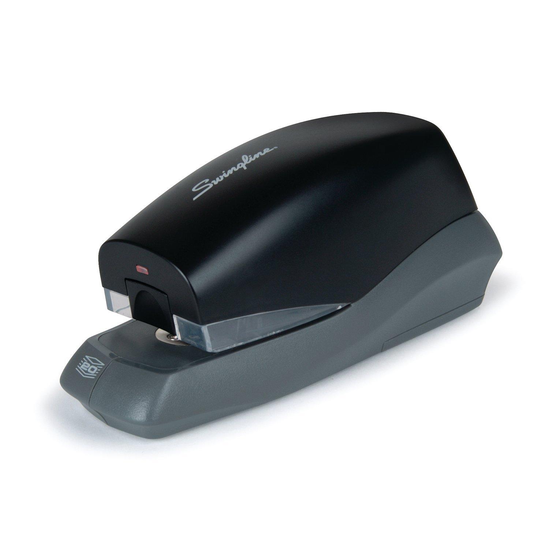 Swingline Breeze Automatic Stapler, Battery Powered, 25 Sheets, Black (S7042132)