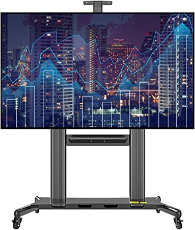 WSJTT Soporte Universal de TV Móvil con el Carro estantes de TV en ...