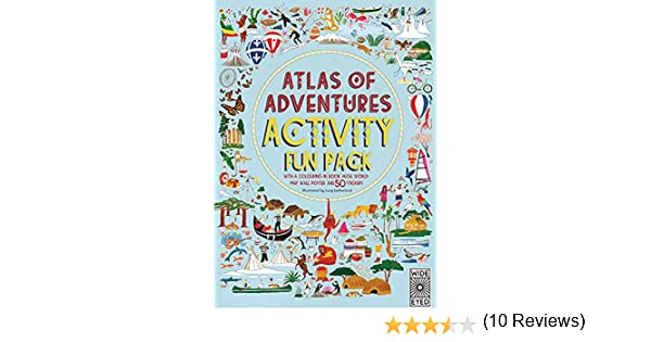 Atlas of Adventures Activity Fun Pack: With a Coloring-In Book, Huge World Map Wall Poster, and 50 Stickers: Amazon.es: Letherland, Lucy: Libros en idiomas extranjeros