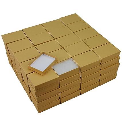 Amazoncom Kraft Cotton Filled Jewelry Box 32 Case of 100 Arts