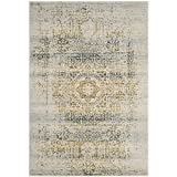Safavieh Evoke Collection EVK232C Vintage Oriental Ivory and Blue Area Rug (9′ x 12′) Review