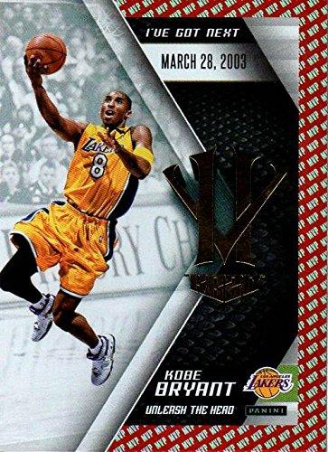 2015-16 Panini HV KB20 Unleash the Hero Red MVP #8 Kobe Bryant NBA Basketball Trading Card