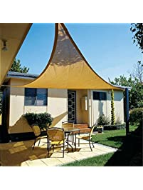 Great CAu0026SHADE 12u0027 X 12u0027 X 12u0027 Triangle Sun Shade Sail For Outdoor And
