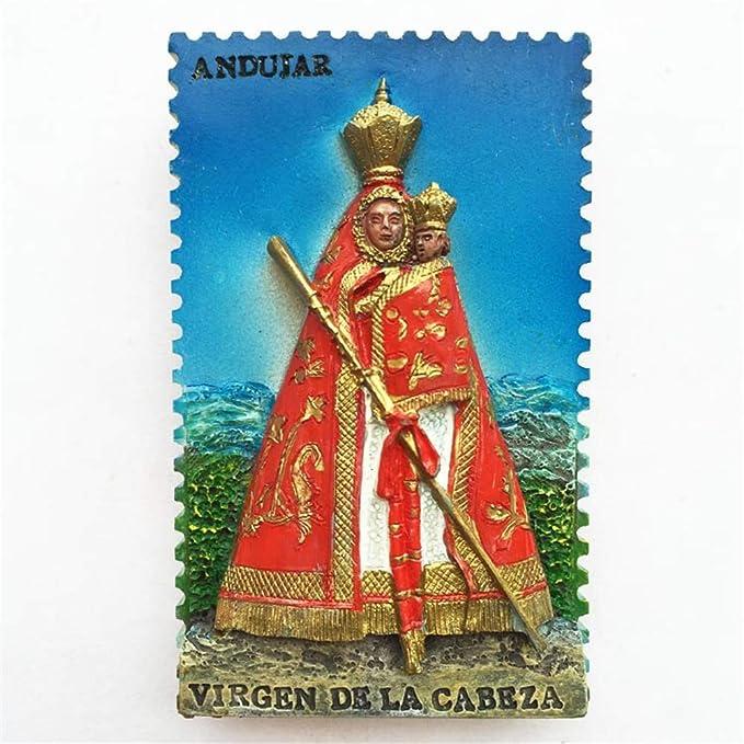 Weekinglo Souvenir Imán de Nevera Andujar España 3D Resina ...