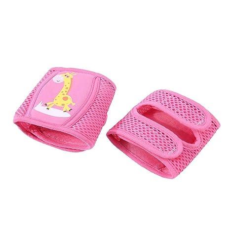 Baby Kids Sponge Mesh Toddler Crawling Knee Leg Pads Protector Leg 1pair W