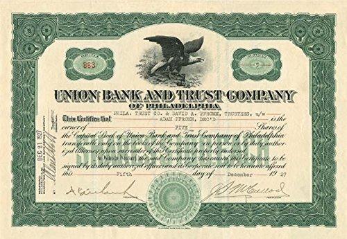 (Union Bank and Trust Company of Philadelphia)