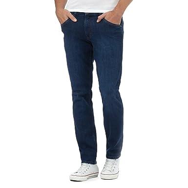 1f0bc4e4 Wrangler Mens Blue Bostin Modern Slim Jeans [120C60A] 32S W32 L30:  Amazon.co.uk: Clothing