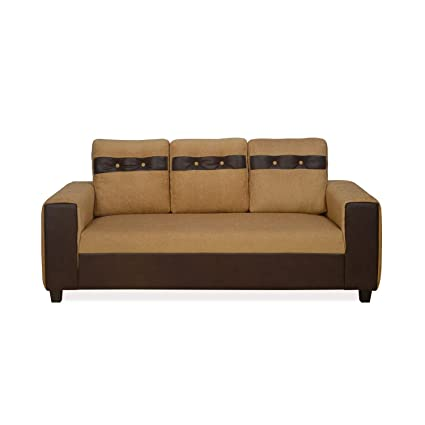 Magnificent Nilkamal Miami 3 Seater Sofa Camel Brown Gloden Amazon In Cjindustries Chair Design For Home Cjindustriesco