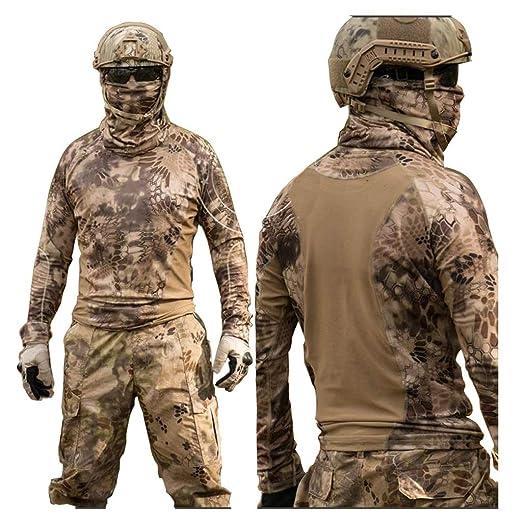 Desierto Patrón de pitón Traje de camuflaje, Deportes al ...