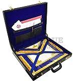 Masonic Regalia Grand Size Apron Hard Case (Briefcase in Leather)