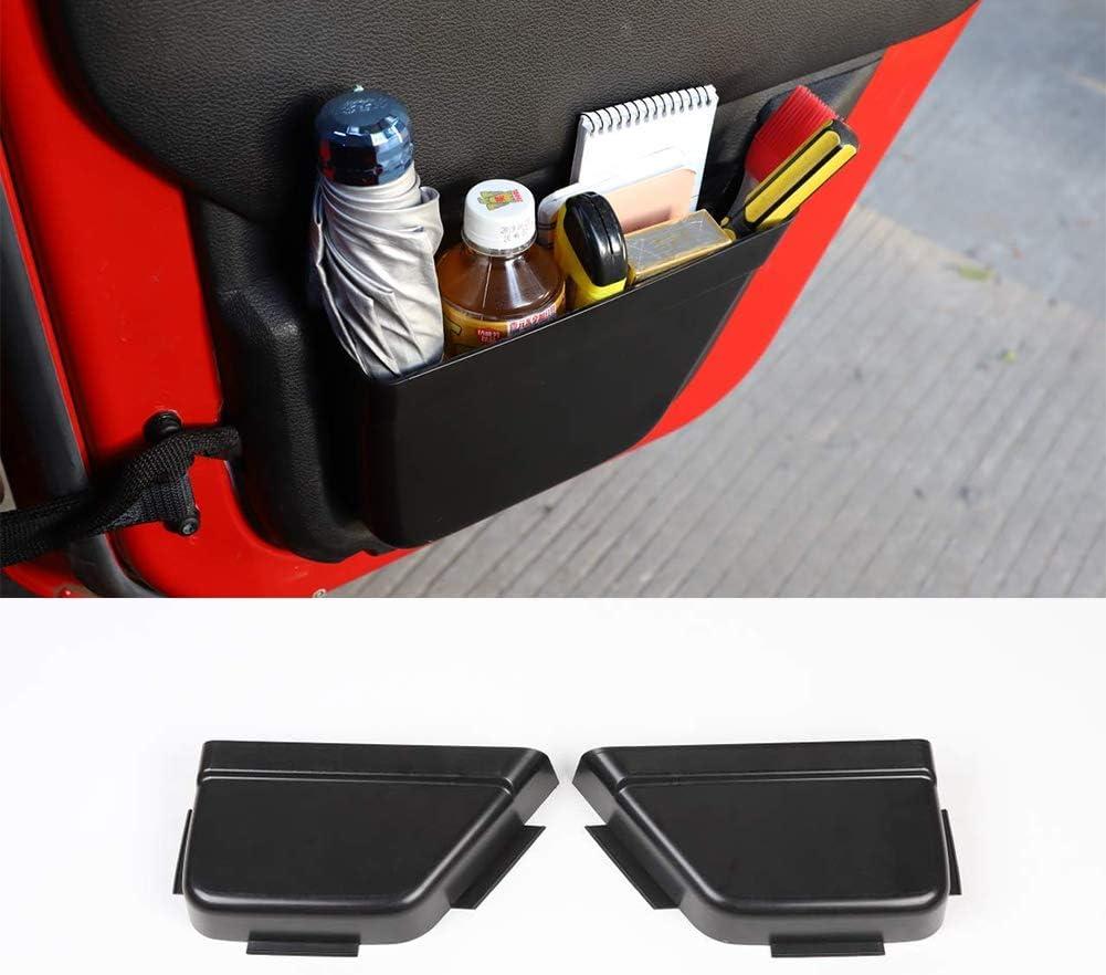 Jeep JK Car Rear Door Net Pocket Storage Box Organizer Rear Door Side Insert Storage Tray Organizer for Jeep Wrangler JK 2011-2017