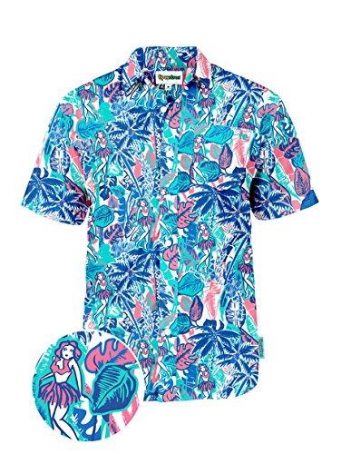 Tipsy Elves The Island Breeze Hawaiian Shirt: Small