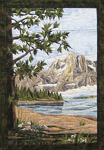 (Teton Mountains - NEW Form of Foundation Paper Piecing (Picture Piecing) Pattern - 26