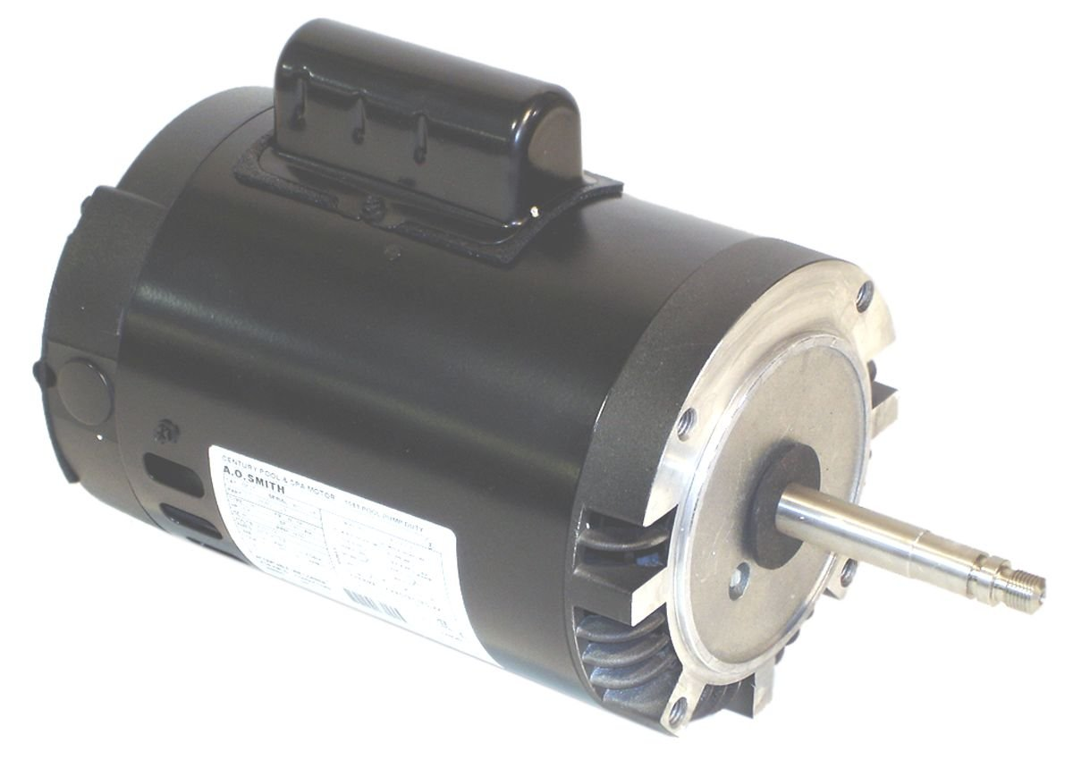 A.O. Smith B625 3/4 HP, 3450 RPM, 1 Speed, 115 Volts, 6.4/12.8 Amps, 1.5 Service Factor, 56CZ Frame, PSC, ODP Enclosure Pool Motor