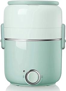 GMZS Multi Food Steamer, 220V 2L Multi-Function Rice Cooker, 3-Layer Portable Cooking Pot, for EU/Australia/UK/US Plug