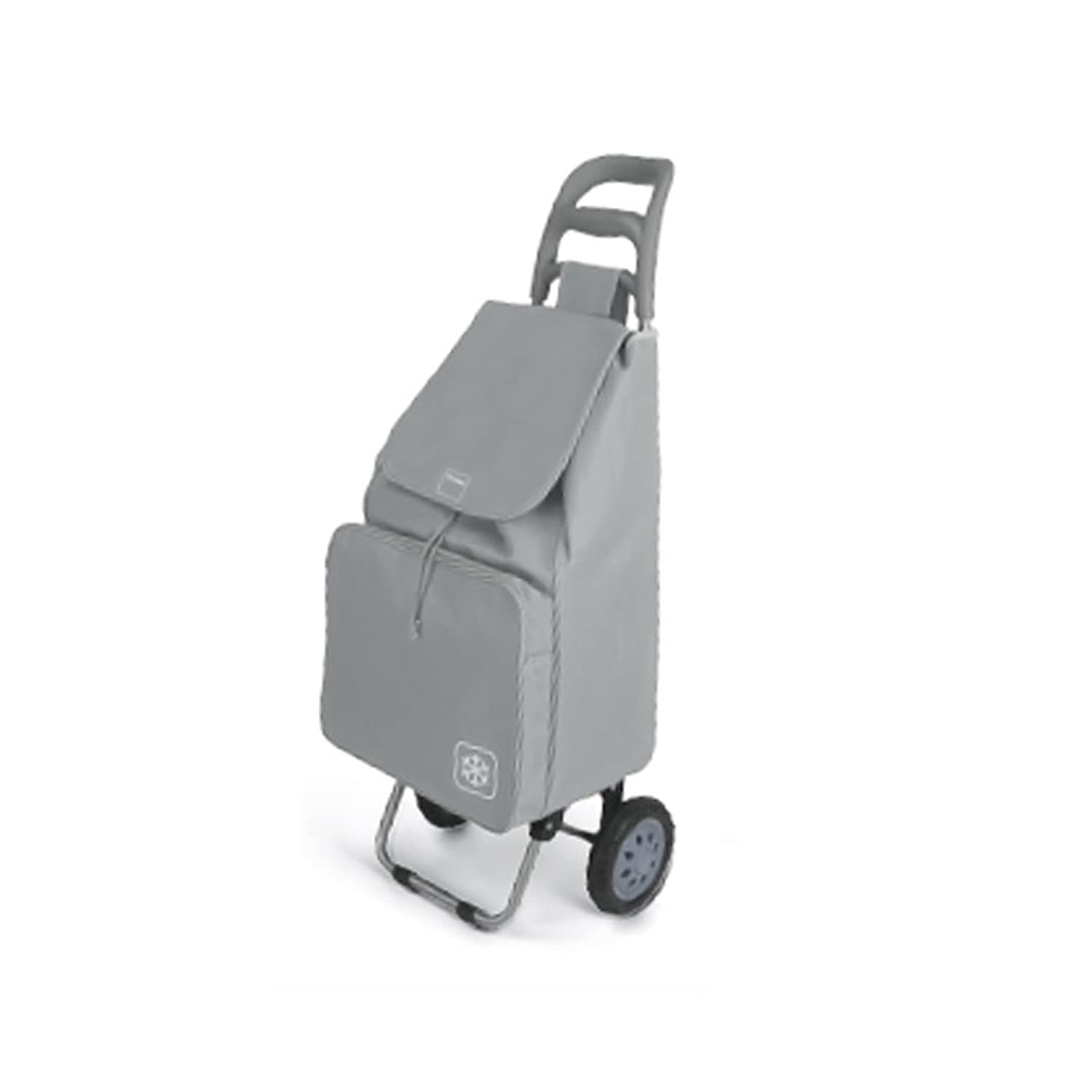Metaltex 415280 Shopping Cart, Gray
