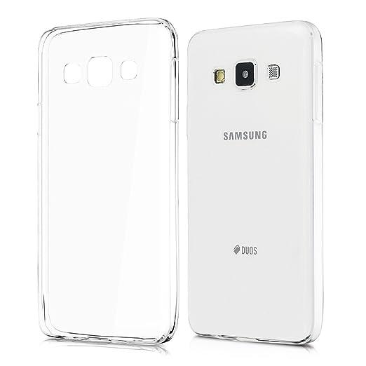 93 opinioni per kwmobile Cover per Samsung Galaxy A3 (2015)- Custodia in silicone TPU- Back case