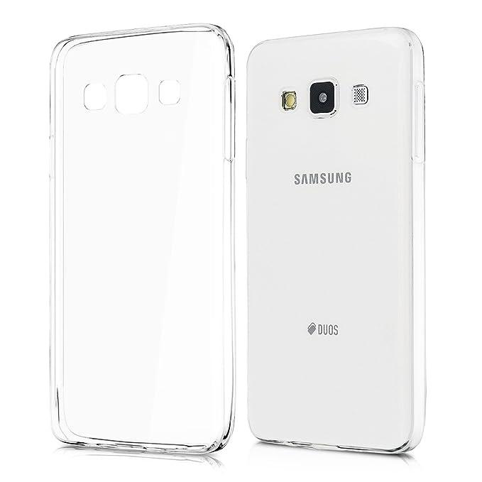 51 opinioni per kwmobile, Custodia in silicone TPU protettiva per Samsung Galaxy A3 (2015),
