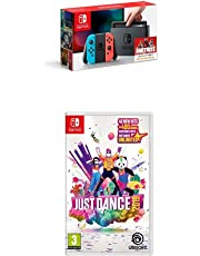 Nintendo Switch Neon with Just Dance 2019