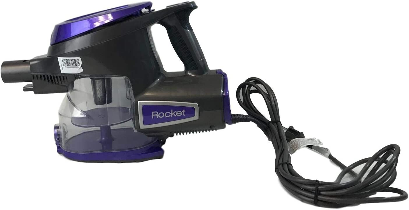 Lutema Shark Rocket DeluxePro Handheld VacuumHV294 (Purple) TruePet Mini Motorized Brush and 15-Foot Power Cord Included (Renewed)