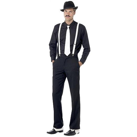 Adult Mens 1920s Razzle Fancy Male Dress Accessory Gangster ...