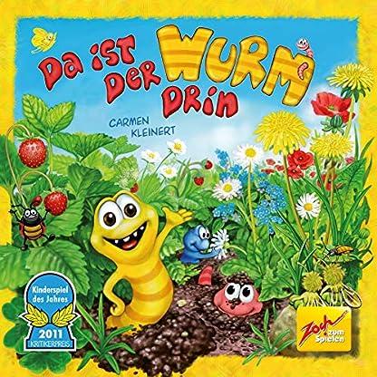Zoch 601132100 Da ist der Wurm drin, Kinderspiel 2011, kinderleichtes und gewitztes Würfel-und Beobachtungsspiel, ab 4 Jahren 5