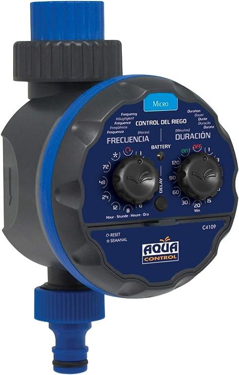 AQUA CONTROL C4109 - Programador de riego para grifo modelo