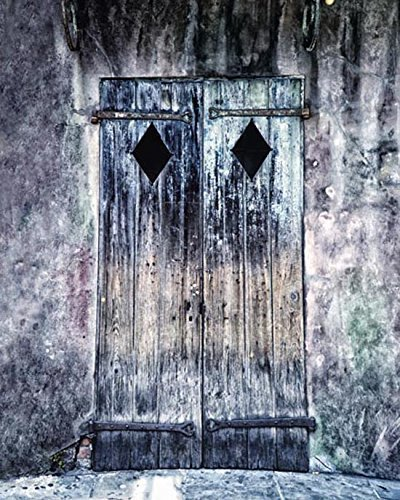 Fine Art Photography New Orleans - New Orleans Door Photography Architectural Decor 5x7 inch Print