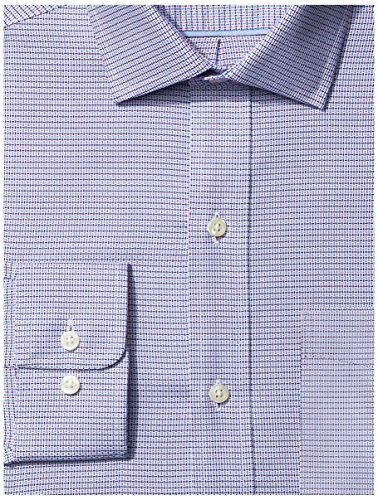 Amazon Brand - BUTTONED DOWN Men's Classic Fit Check Dress Shirt, Supima Cotton Non-Iron