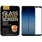 Parallel Universe Samsung Galaxy A8 Plus A8 + A8+ 2018 Original Edge to Edge 3D Tempered Glass screen protector - Black