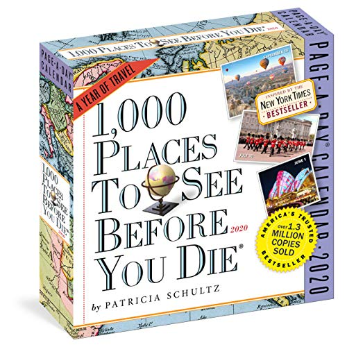 Places 1000 - 1,000 Places to See Before You Die Page-A-Day Calendar 2020