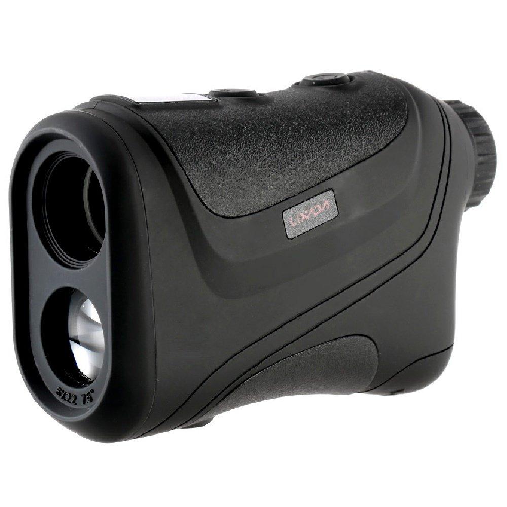 Lixada Laser Rangefinder 600 Yards Hunting and Golf Range Finder 18 - 300KM/H Speed Measurement with Speed Monocular Distance Meter Speed Tester
