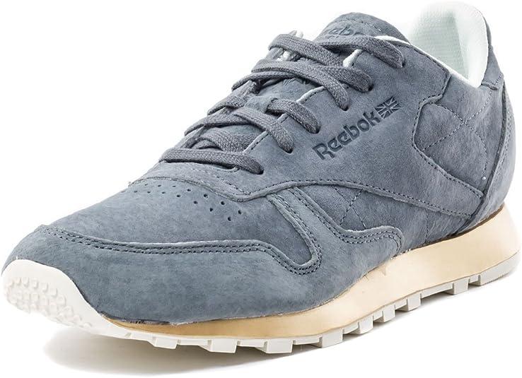 Reebok CL LTHR New Metal Sneaker grau | Reebok schuhe damen