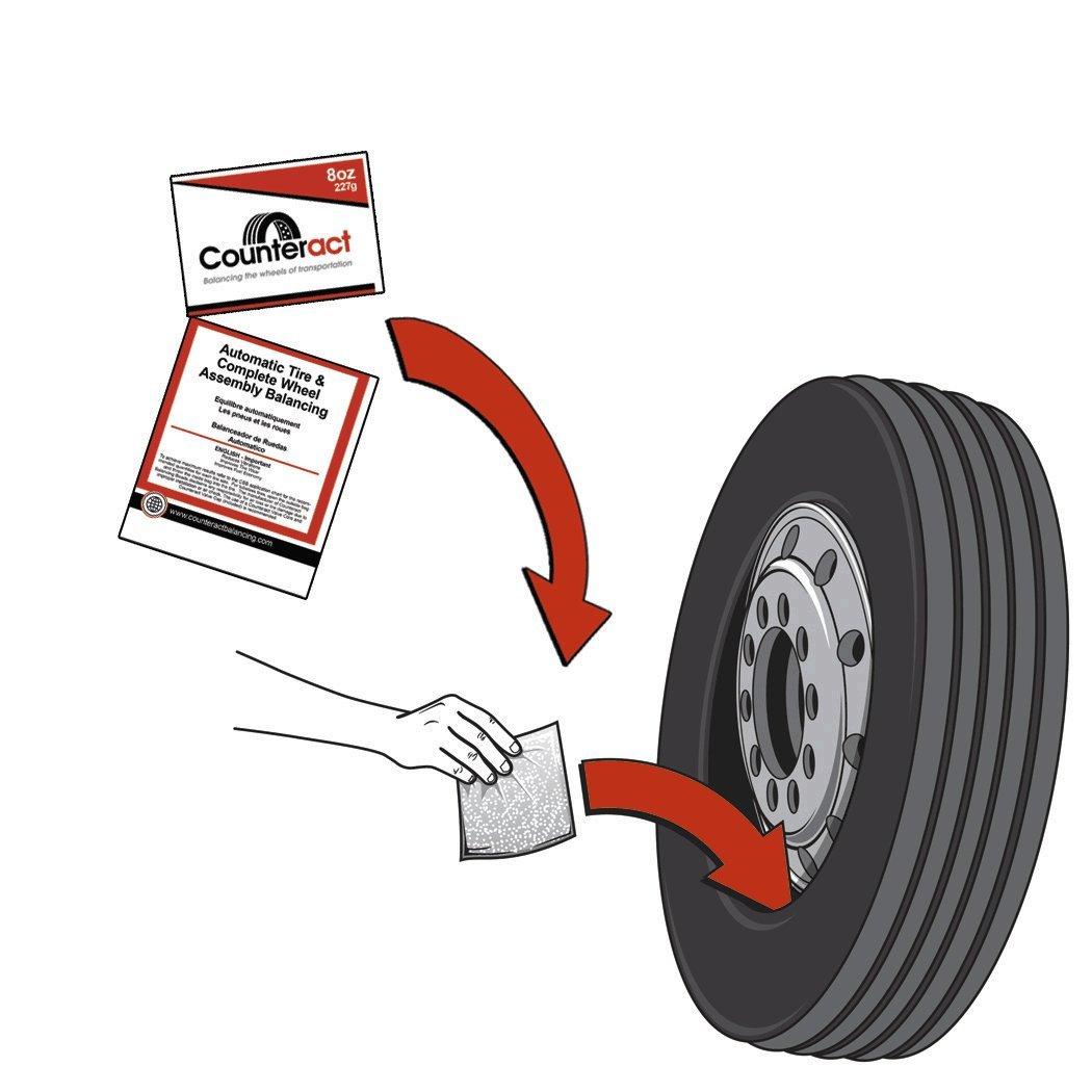 24oz 6oz DIY Kit DIYK-6 Counteract Tire Balancing Beads Light Truck//Off-Road
